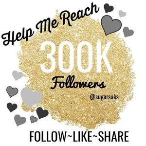New Goal 300,000 Followers 💃🏽🎉FG #2